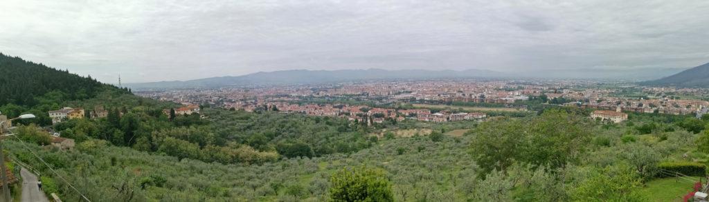 La Terrazza Agriturismo Vista panoramica dal borgo di Filettole